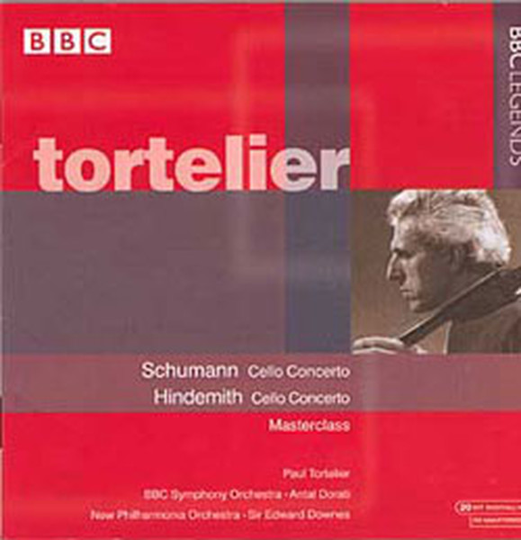 Schumann Hindemith Cello Concertos Dr Kltr Sanat Ve