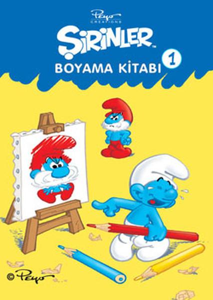 şirinler Boyama Kitabı 1 Dr Kültür Sanat Ve Eğlence Dünyası
