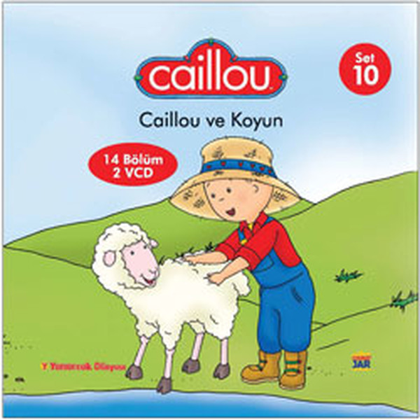 Caillou 10: Caillou Ve Koyun Kitap Konusu