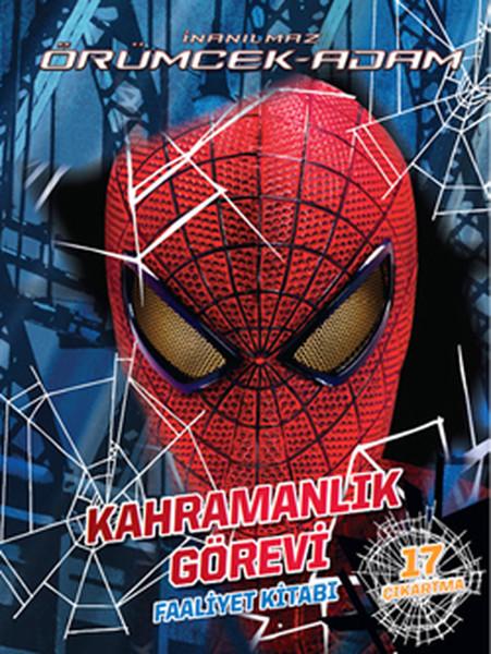 Inanılmaz örümcek Adam Kahramanlık Görevi Faaliyet Kitabı Dr