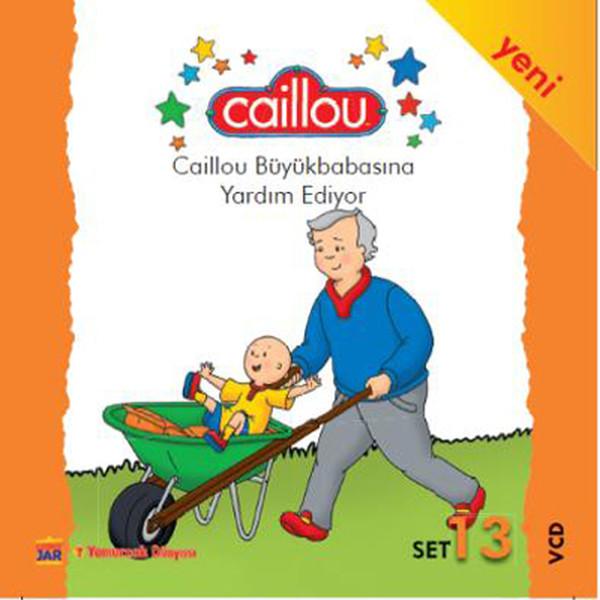 Caillou 13 - Caillou Büyükbabasina Yardim Ediyor Kitap Konusu