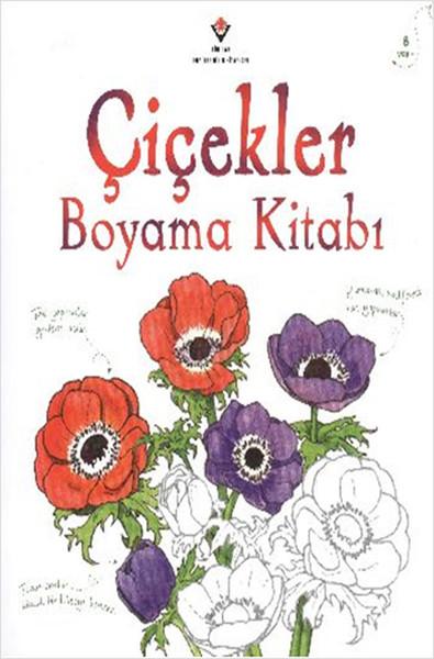 çiçekler Boyama Kitabı Dr Kültür Sanat Ve Eğlence Dünyası