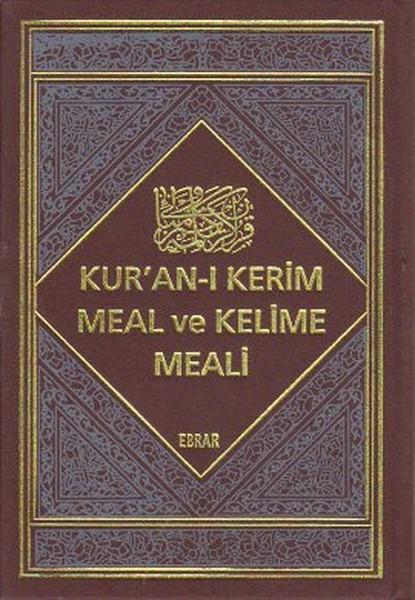 Kur`an-ı Kerim Meal ve Kelime Meali (2 Cilt Takım)