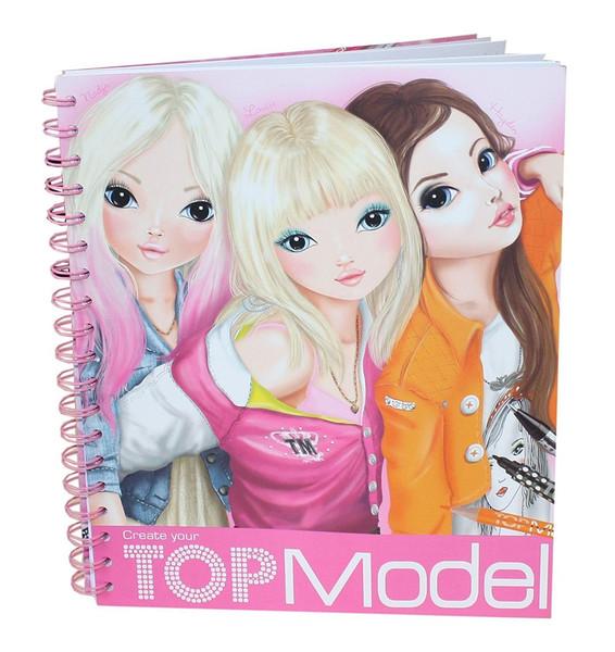 Top Model Boyama Kitabı Dk06657 Dr Kültür Sanat Ve Eğlence