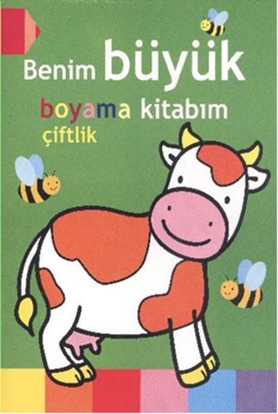Benim Büyük Boyama Kitabım çiftlik Dr Kültür Sanat Ve Eğlence