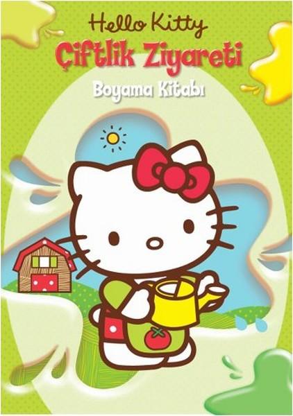 Hello Kitty çiftlik Ziyareti Boyama Kitabı Dr Kültür Sanat
