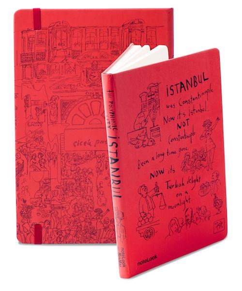 Notelook A6 Istanbul Çiçek PasajiÇizgili Kitap Konusu