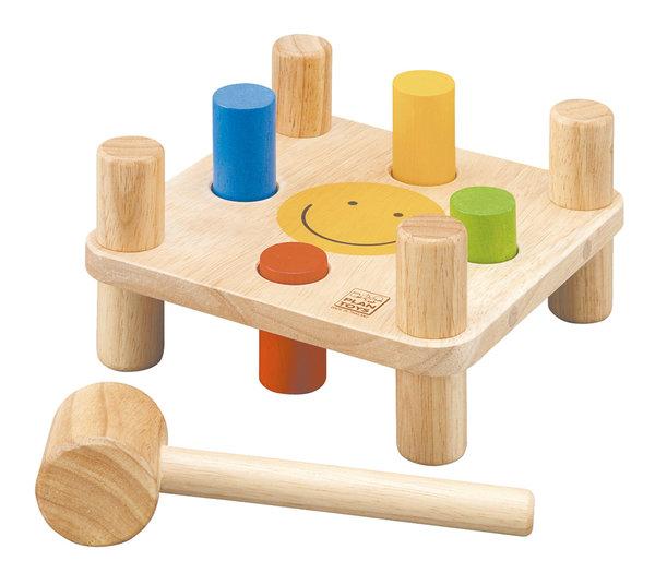 Plan Toys  U00c7eki U00e7  U00c7ubuk  Hammer Peg  5126