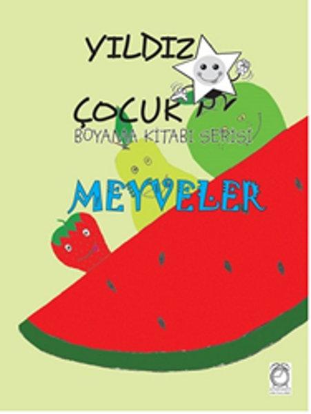 Yıldız çocuk Boyama Kitabı Serisi 3 Meyveler Dr Kültür Sanat