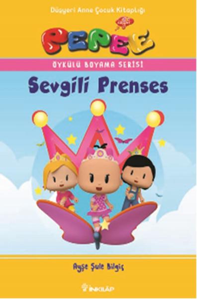 Pepee öykülü Boyama Serisi Sevgili Prenses Dr Kültür Sanat