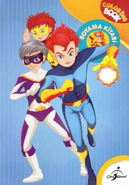 Süper Kahramanlar Boyama Kitabı Dr Kültür Sanat Ve Eğlence Dünyası