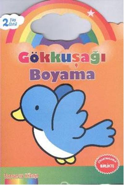 Gökkuşağı Boyama Turuncu Kitap 2 Yaş üstü Dr Kültür Sanat Ve