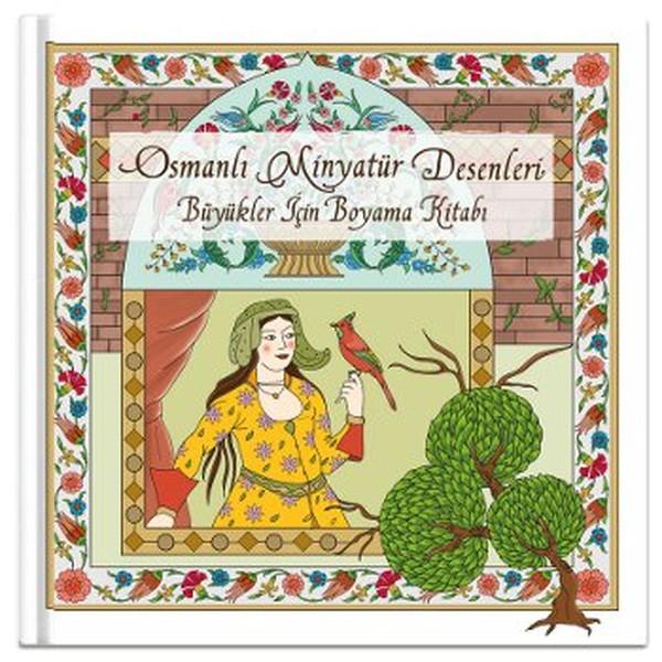Osmanlı Minyatür Desenleri Büyükler Için Boyama Kitabı Dr