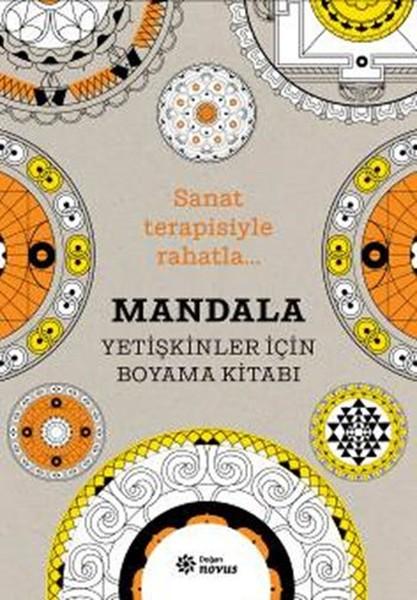 Mandala Yetişkinler Için Boyama Kitabı Dr Kültür Sanat Ve