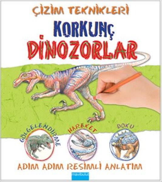 çizim Teknikleri Korkunç Dinozorlar Dr Kültür Sanat Ve
