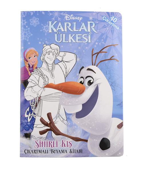 Disney Karlar ülkesi Sihirli Kış çıkartmalı Boyama Kitabı Dr