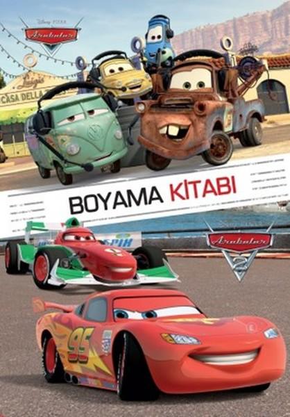 Disney Arabalar Boyama Kitabı Dr Kültür Sanat Ve Eğlence Dünyası