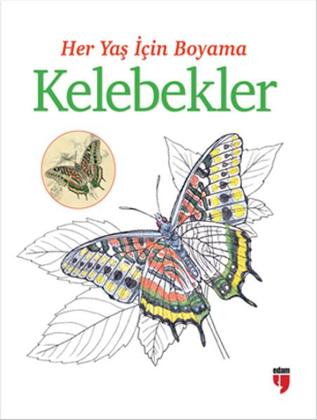 Her Yaş Için Boyama Kelebekler Dr Kültür Sanat Ve Eğlence
