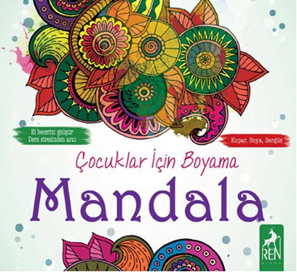 çocuklar Için Boyama Mandala Dr Kültür Sanat Ve Eğlence Dünyası