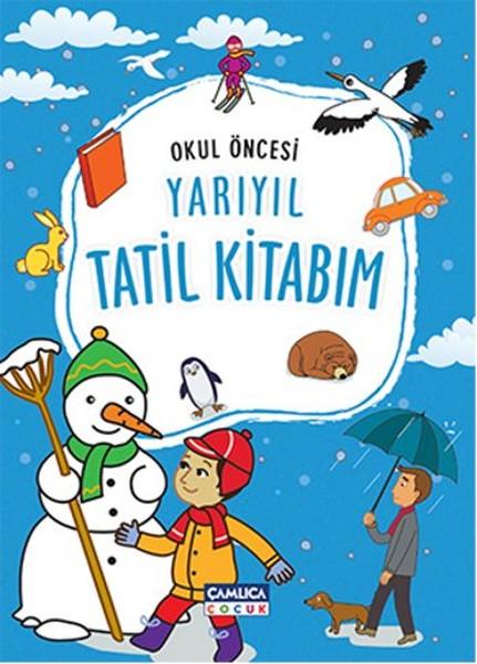 Okul öncesi Yarıyıl Tatil Kitabım Dr Kültür Sanat Ve Eğlence