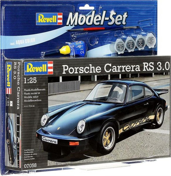 Revell Model Set Star Wars Mset Porsche Carrera Rs Vba67058 Dr