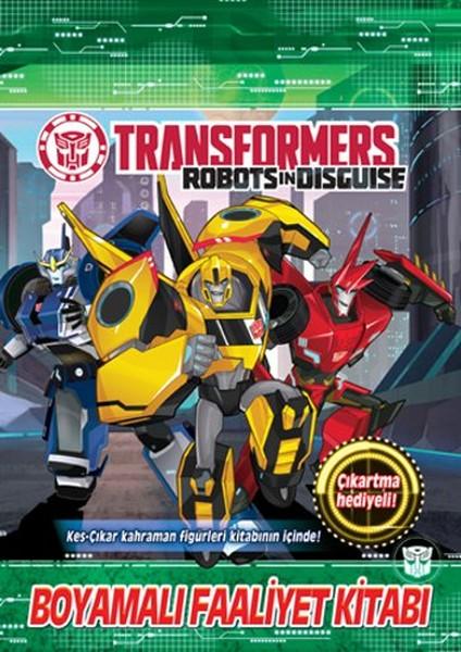 Transformers Boyamalı Faaliyet Kitabı Dr Kültür Sanat Ve