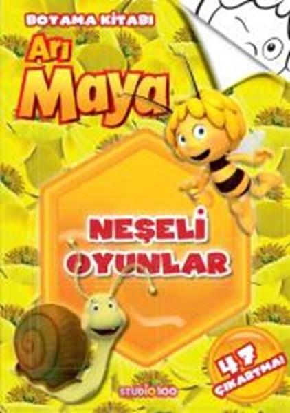 Arı Maya Neşeli Oyunlar Boyama Kitabı Dr Kültür Sanat Ve