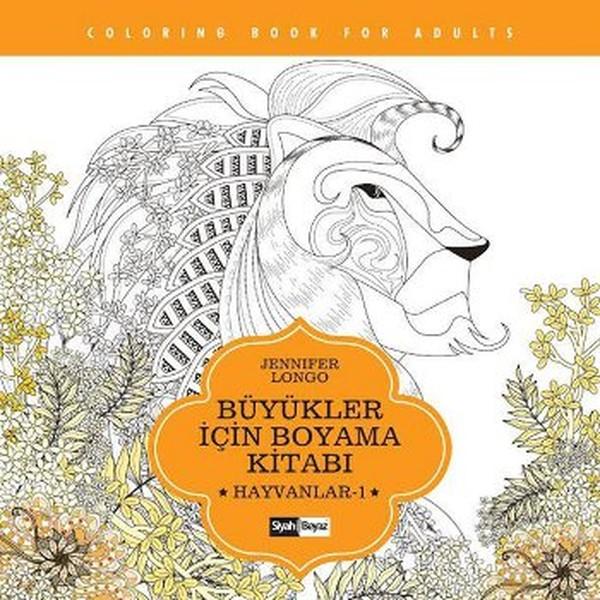 Büyükler Için Boyama Kitabı Hayvanlar 1 Dr Kültür Sanat Ve