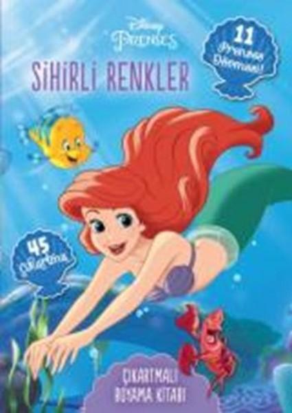 Disney Prenses Dövmeli Ve çıkartmalı Boyama Kitabı Sihirli Renkler