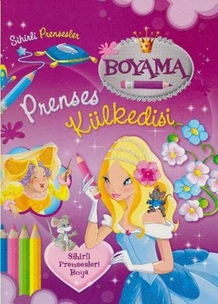 Sihirli Prensesler Prenses Külkedisi Boyama Kitabı Dr