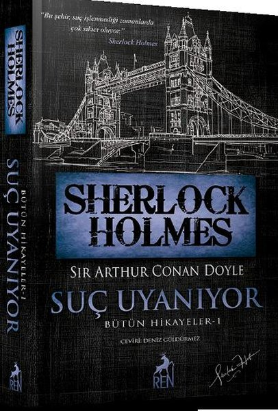 Sırayla Sherlock Holmes kitapları. Eserlerin kısa tanımı