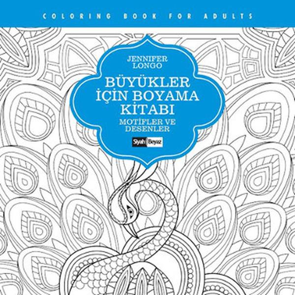 Büyükler Için Boyama Kitabı Motifle Dr Kültür Sanat Ve Eğlence
