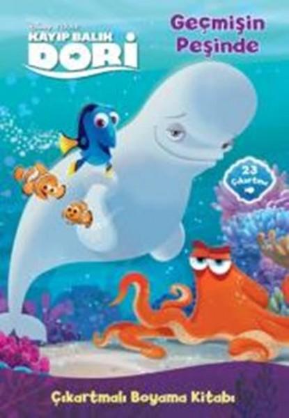 Disney Kayıp Balık Dori çıkartmalı Boyama Kitabı Geçmişin