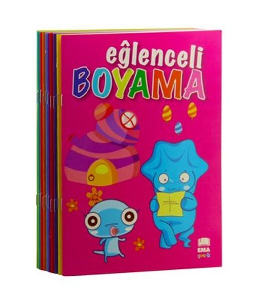 Eğlenceli Boyama Seti 10 Kitap Takım Dr Kültür Sanat Ve