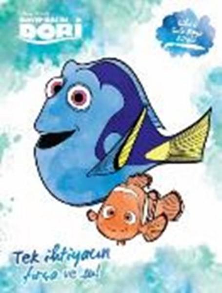Disney Kayıp Balık Dori Sihirli Sulu Boya Kitabı Dr Kültür