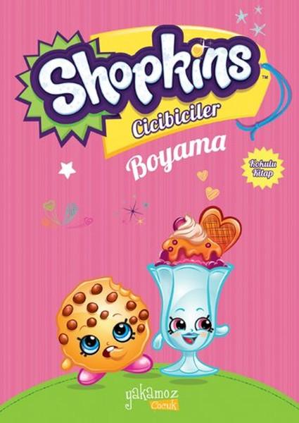 Shopkins Cicibiciler Boyama Kitabı Pembe 2 Dr Kültür Sanat Ve