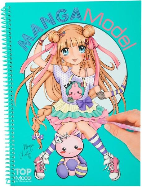 Top Model Manga Boyama Kitabi 8516 Dr Kültür Sanat Ve Eğlence