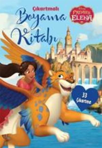 Disney Prenses Elena çıkartmalı Boyama Kitabı Dr Kültür Sanat