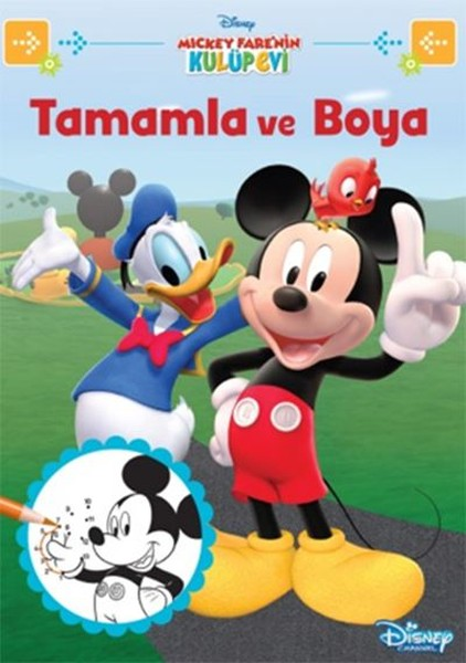 Disney Mickey Farenin Kulüp Evi Tamamla Ve Boya Dr Kültür