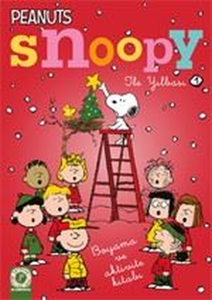 Snoopy Ile Yılbaşı 1 Boyama Ve Aktivite Kitabı Dr Kültür Sanat