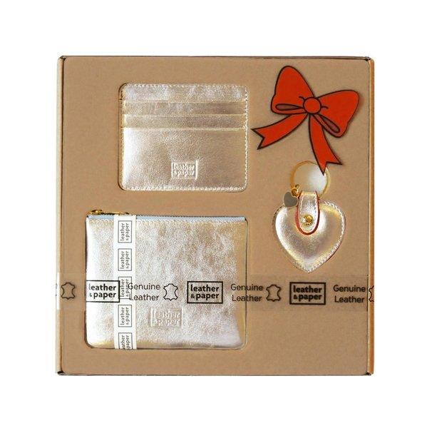 d28fba35e495c Leather&Paper Mini Çanta+Kartlık+Anahtarlık Gümüş | D&R - Kültür ...
