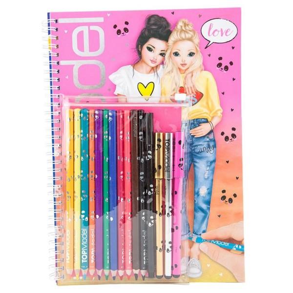 Top Model Kalemli Boyama Kitabı 8760 Dr Kültür Sanat Ve