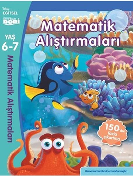 Disney Egitsel Kayip Balik Dory Matematik Alistirmalar 6 7 Yas