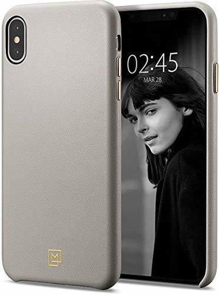 iPhone XS Max Kılıf Spigen La Manon Câlin Premium Deri...