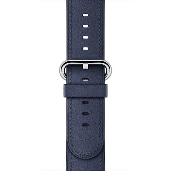 Apple Watch 38 mm Klasik Tokalı Gece Mavisi Kayış