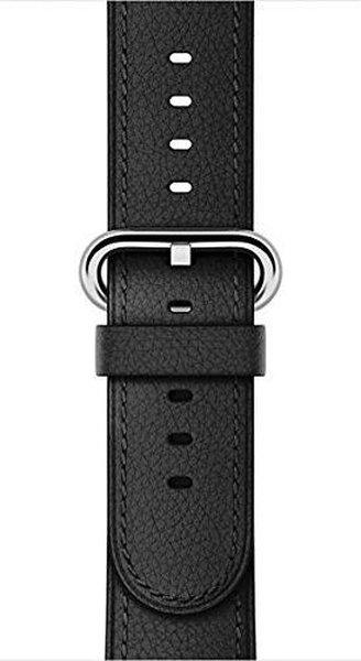 Apple Watch 38 mm Klasik Tokalı Siyah Kayış