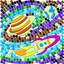 4M Glow Space Window Mosaic / Paralayan Pencere Mozaik - Uzay 4649
