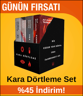 Kara Dörtleme Kutulu Set