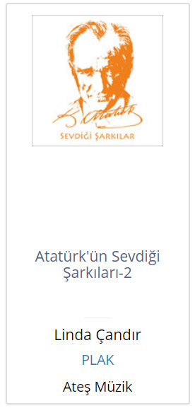 Atatürk'ün Sevdigi Sarkilari-2