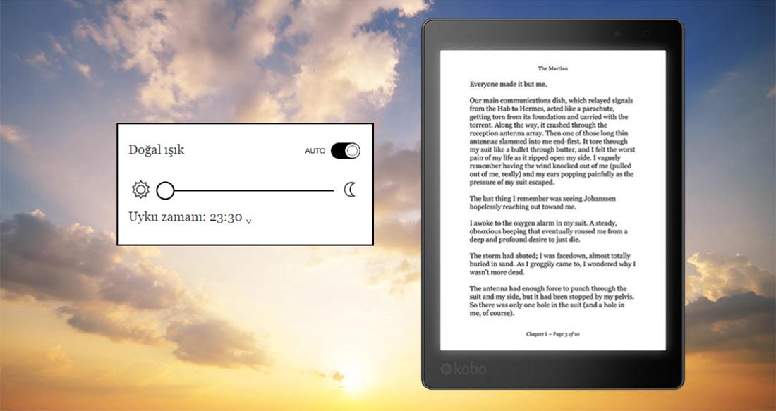 Yatma saatinde okumayı sevenlerin okuma keyfi ComfortLight PRO ile katlanıyor